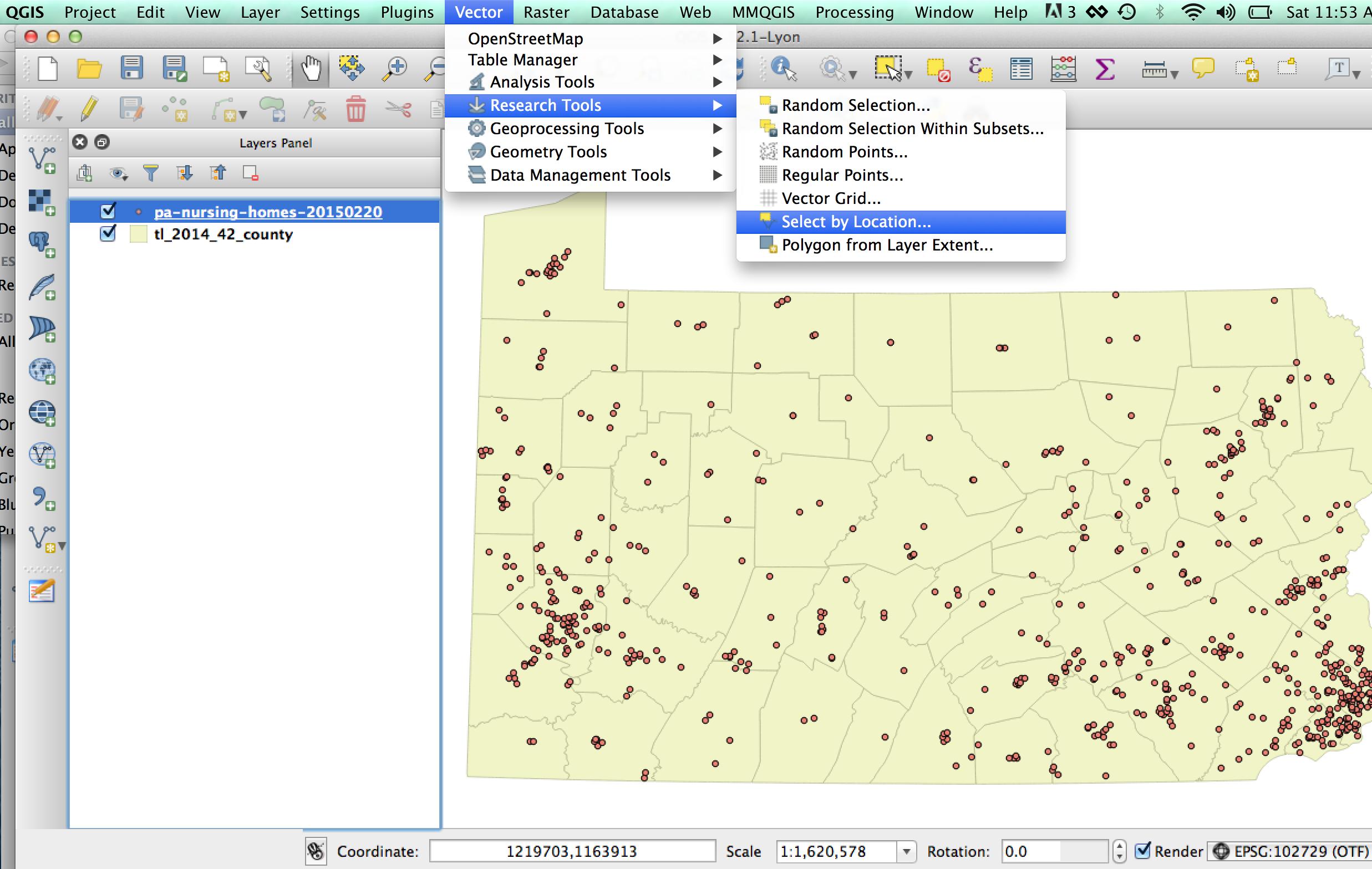 The Fast & The Mapped: QGIS Basics